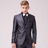 男士绅士韩版修身重庆西服套装定做