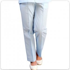 全松紧腰侧口袋医用护士裤子夏装白色粉色蓝色不起球不褪色定做