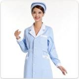 新款冬装药店工作服护士服长袖美容工作服套装抗菌耐磨不起球定做