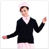 特价正品包邮深蓝加厚护士毛衣护士外套开衫羊毛衫医生服护士服定做