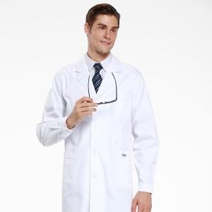 医用白大褂医师医生实验卫校服男款式长袖冬装药店工作服定做