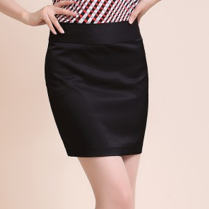 定做女士职业一步裙春夏季OL工作包臀半身重庆西装裙正装裙子短群大码黑色定做