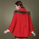 定做秋冬装新款女装羊毛呢外套呢子大衣定做