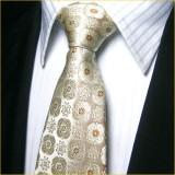 定做高档精品色织真丝领带套装小碎花浅色正装领带套装定做