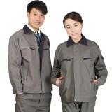 全棉工作服套装男女劳保服长袖工作服带里帆布加油站防静电工作服定做