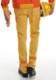 加油站汽修工作服套装防静电反光安全工服套装防静电反光条魔术贴暗扣定做