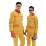 冬季长袖工作服工衣工服防静电反光棉衣套装定做