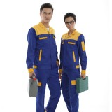 汽修加油站工作服套装男女防静电反光安全工装套装防静电反光魔术贴暗扣安全定做