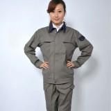 双层纯棉工作服劳保服车间服电焊服防火服男女套装定做