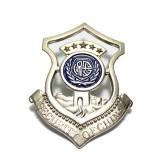 重庆保安服装配件臂章领花帽徽胸徽胸牌保安配饰定做