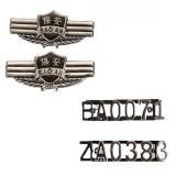 重庆正品保安肩章肩章/ZPpolicezq肩章软肩章/臂章/胸号/胸标定做