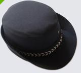 重庆工作服女保安帽 保安女帽 物业停车场门卫女帽 制服帽子 演出帽定做重庆服装定做重庆服装厂欧迈