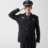 重庆保安制服春秋装藏青色保安服冬装西服式保安服套装全套定做