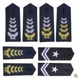 重庆新式保安肩章新款保安服饰配件保安软肩章保安套肩章定做