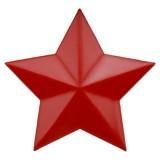 重庆经典收藏品/老式红五星红卫兵帽徽/红色五角星定做