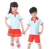 重庆夏季儿童童装校服母婴幼儿园小学生包邮订做定做