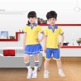 重庆新款夏季幼儿园园服/中小学生校服/合唱演出服定做