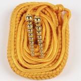 重庆绶带治安物业管理桔黄银灰色绶带精神带保安服饰配件定做