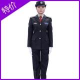 重庆新式西服式女保安服保安制服女保安春秋装安保女工作服常服套装定做