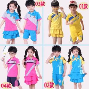 重庆夏季新款幼儿园园服夏装英伦学院派小学生校服套装短袖批发定做