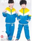 重庆中小学生校服幼儿园园服批发儿童秋冬款运动套装订做定做