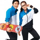 重庆秋冬季男女高中初中长袖校服班服套装学生装运动会服装定做