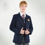 重庆学院童装儿童西装男大童针织开衫装定做