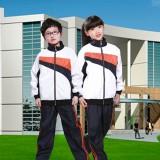 重庆小学生高初中学生春秋冬运动服校服班服套装长袖套装定做