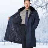 重庆保安服保安服装冬装套装新式保安棉服加厚定做