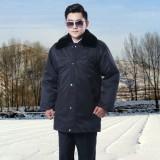重庆加厚多功能保安大衣保安服冬装棉服保安制服棉衣中长款定做
