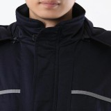 重庆保安冬装制服棉服工作服套装男长袖工程服劳保服汽修服工厂工服定做