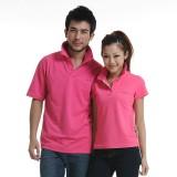 重庆女装t恤夏季新款短袖T恤女翻领半袖情侣装韩版体恤衫定制工服女定做
