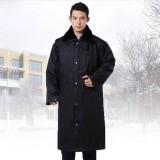 重庆冬装保安大衣加长加厚多功能防寒棉大衣军大衣保暖大衣定做
