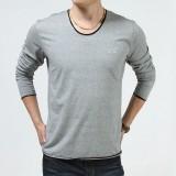 重庆秋冬季工装军旅潮男士体恤战地吉普时尚长袖圆领宽松型T恤正品定做