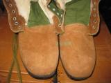 重庆劳保安全鞋防砸防刺棉鞋钢包头冬季保暖大头鞋翻毛牛皮鞋定做