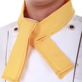 重庆厨师三角巾领带领结酒店西餐厅服务员领巾厨师领巾多色定做
