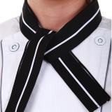 重庆咖啡西餐厅服务员领结厨师汗巾厨房厨师汗巾男女生领带定做