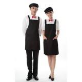 重庆工作服厨房围裙 工作围裙 围裙韩版 服务员围裙定做重庆服装定做重庆服装厂欧迈