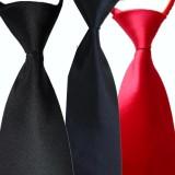 重庆高档职业领带工作领带酒店服务员领带易拉得领带方便领带定做
