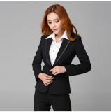 OL上班面试女士时尚白领重庆西服套装女装定做