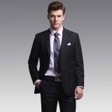 男士重庆西服套装商务休闲修身重庆西装外套高端结婚礼服绅士正装定做