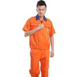 短袖工作服汽修工程服半袖工作服套装男工作服劳保服工装定做