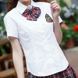 重庆英伦校服套装韩国制服夏装日本学生装短袖水手服韩版女生班服定做