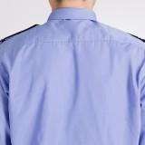 重庆保安服短袖衬衣保安服夏装套装保安制服衬衫长袖男定做