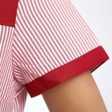 重庆快餐厅服务员工作服装酒店饭店服务生服装汉堡店工作服短袖定做