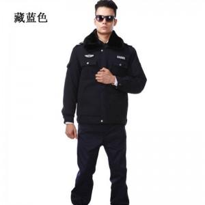 重庆防寒劳保服夹克执勤服防寒大衣保安制服冬装保安服装保安棉服定做