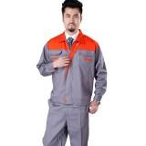 工作服套装男长袖工程服工装制服劳保服工厂车间工人电焊服定做