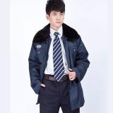 冬装棉衣工程服加厚中长款保安大衣冬装棉服保安工作服棉大衣定做
