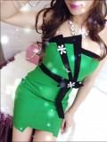 重庆抹胸裙短裙夜场性感修身包臀裙夏季小礼服夜店女装潮裹胸定做