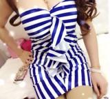 重庆夜店服装性感连衣裙夜场女装紧身抹胸包臀裙定做